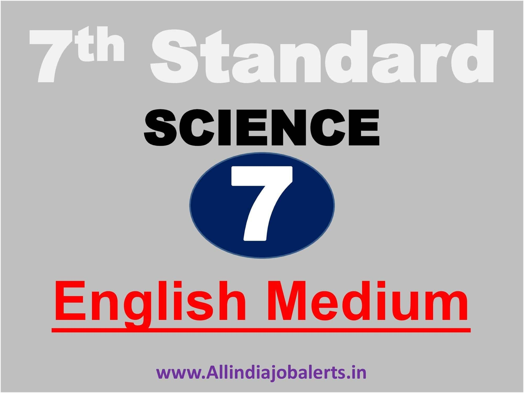7th Standard Science Chapter 2