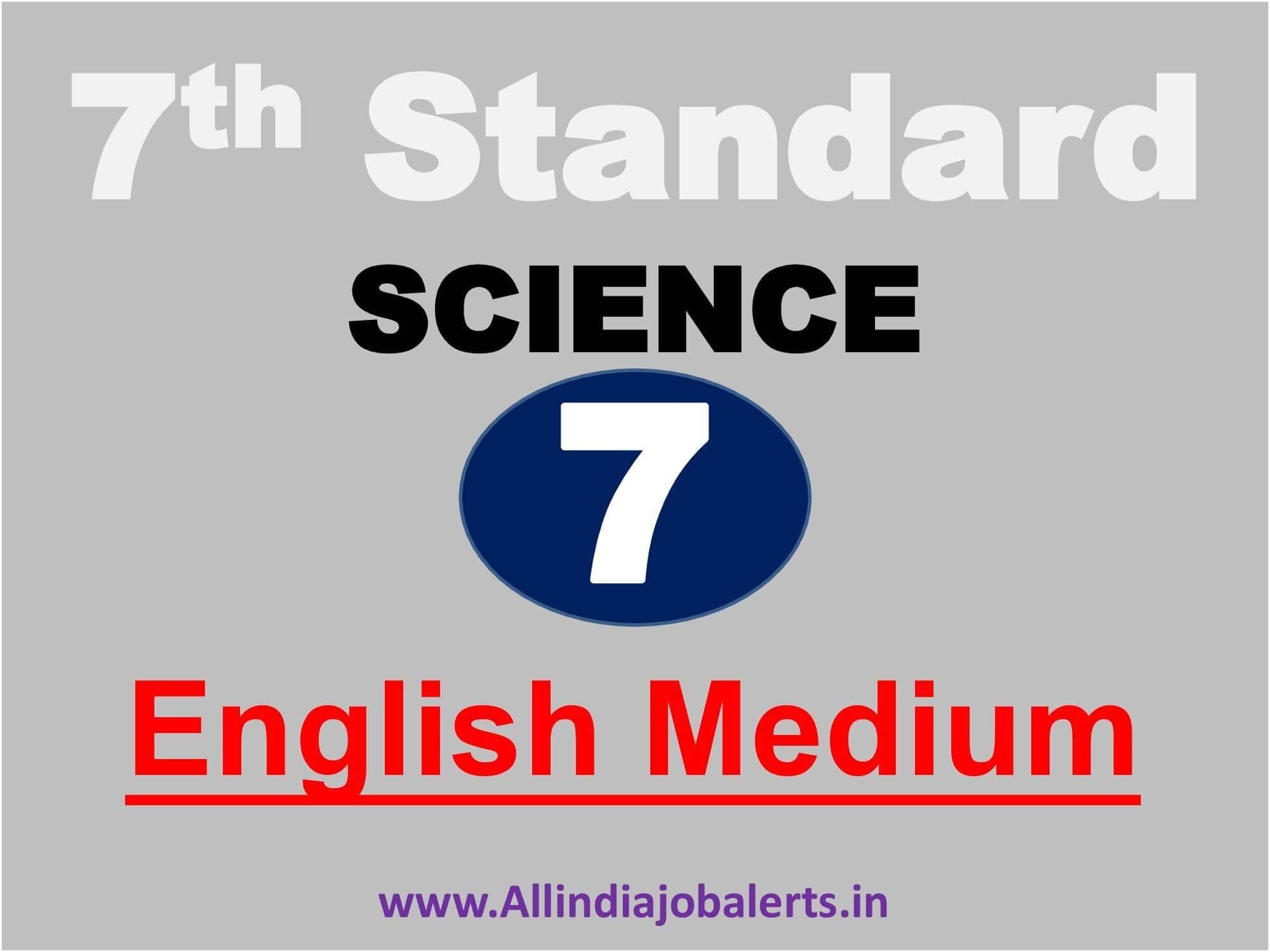 7th standard science