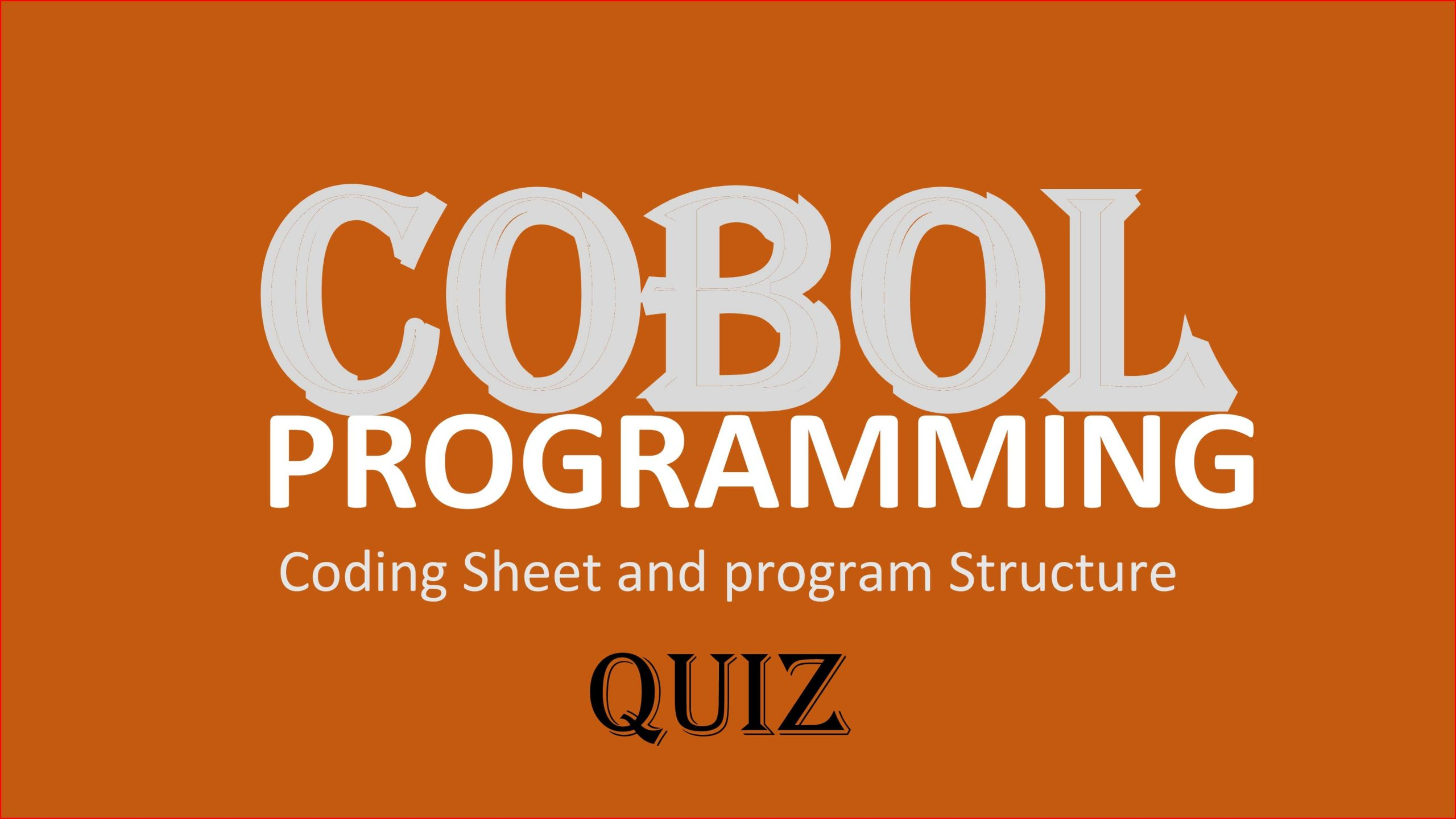 COBOL Series  2