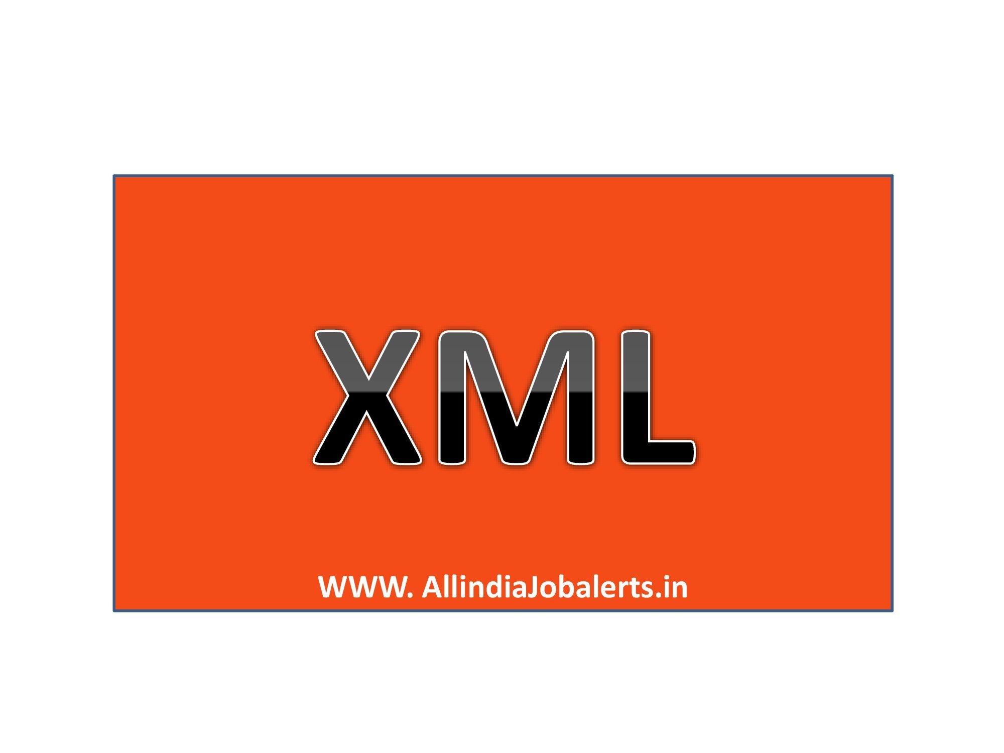 XML(Extensible Markup Language), SGML, XSLT Quiz , XML Notes