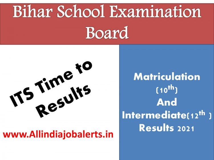 Bihar Board 10th, 12th  Results