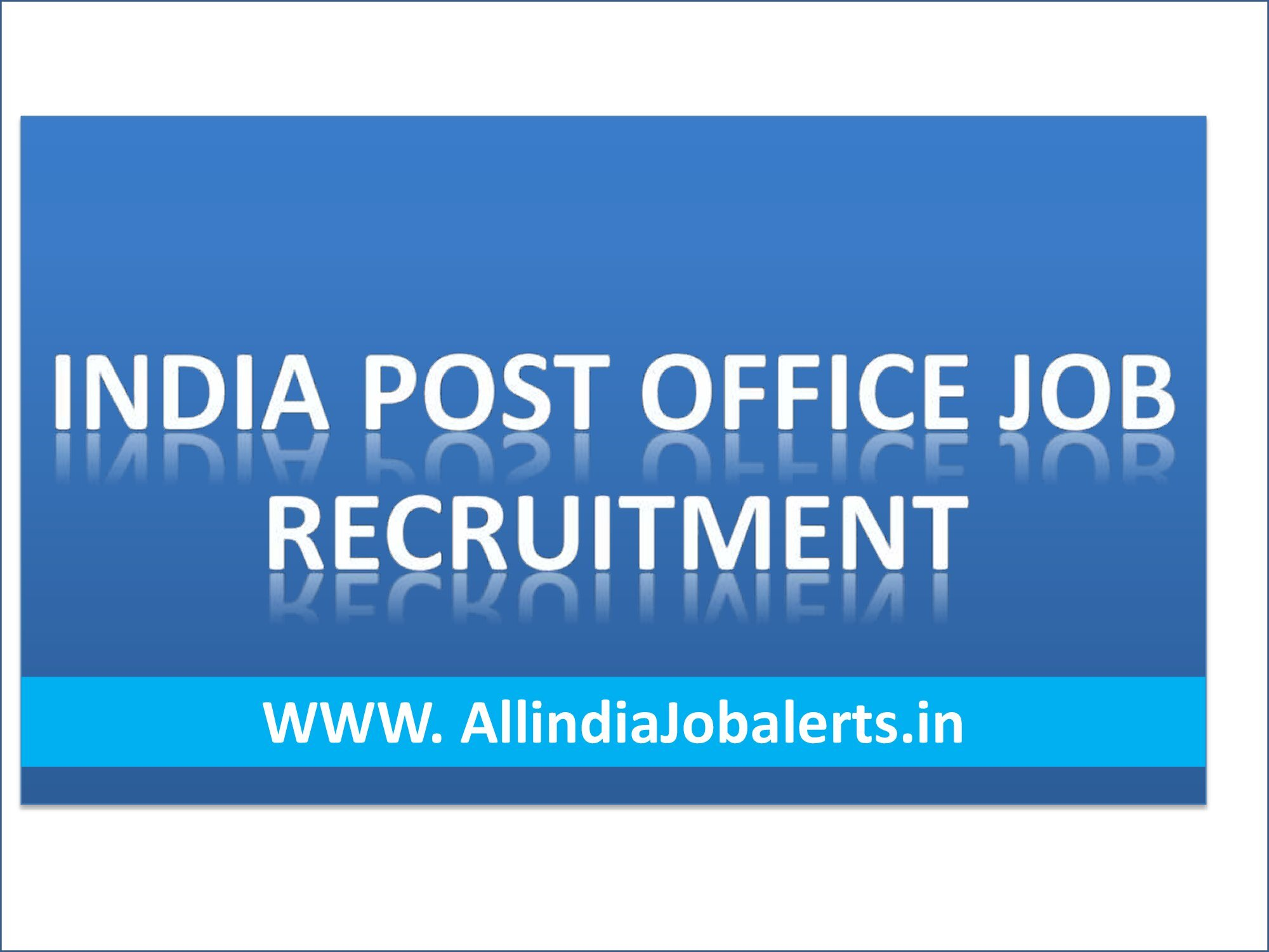 Indian Post Office, Latest Government Job 2021