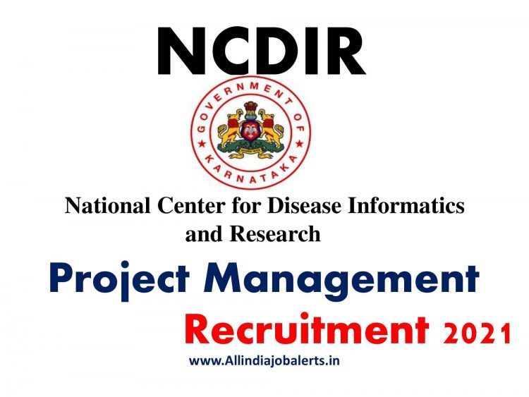 National Centre for Disease Information and Research (NCDIR) Recruitment